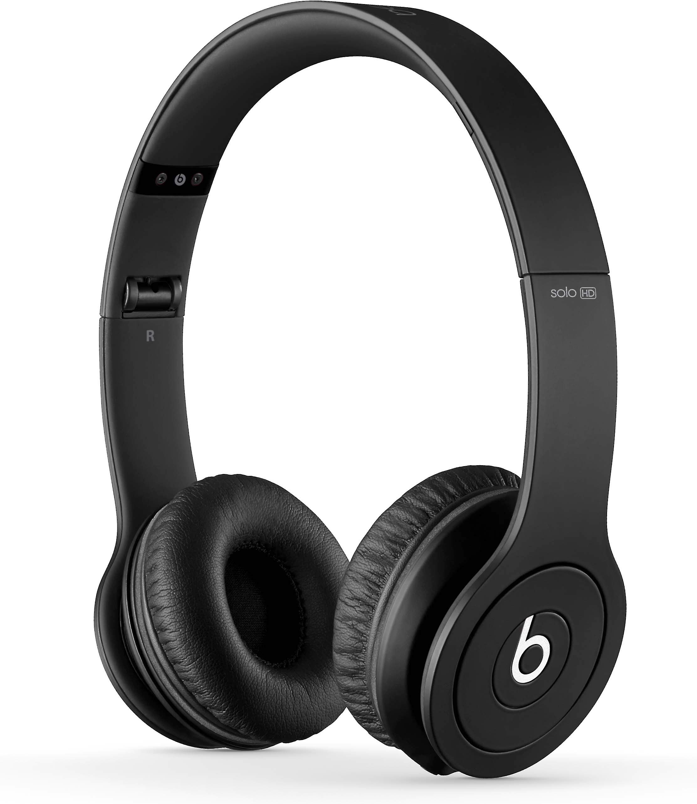 Beats By Dr Dre 174 Solo 174 Hd Black On Ear Headphone With