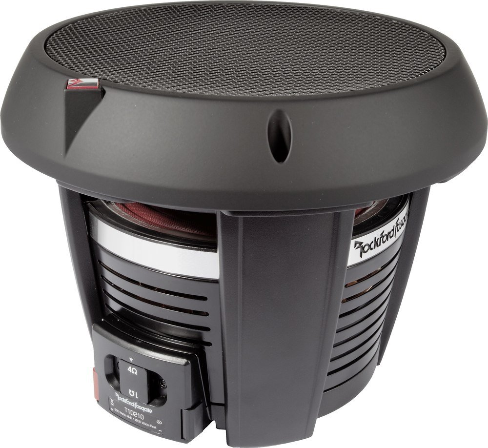 Rockford Fosgate Power T1d210 10 Dual 2 Ohm Voice Coil Component Hd Subwoofer At Crutchfield Canada