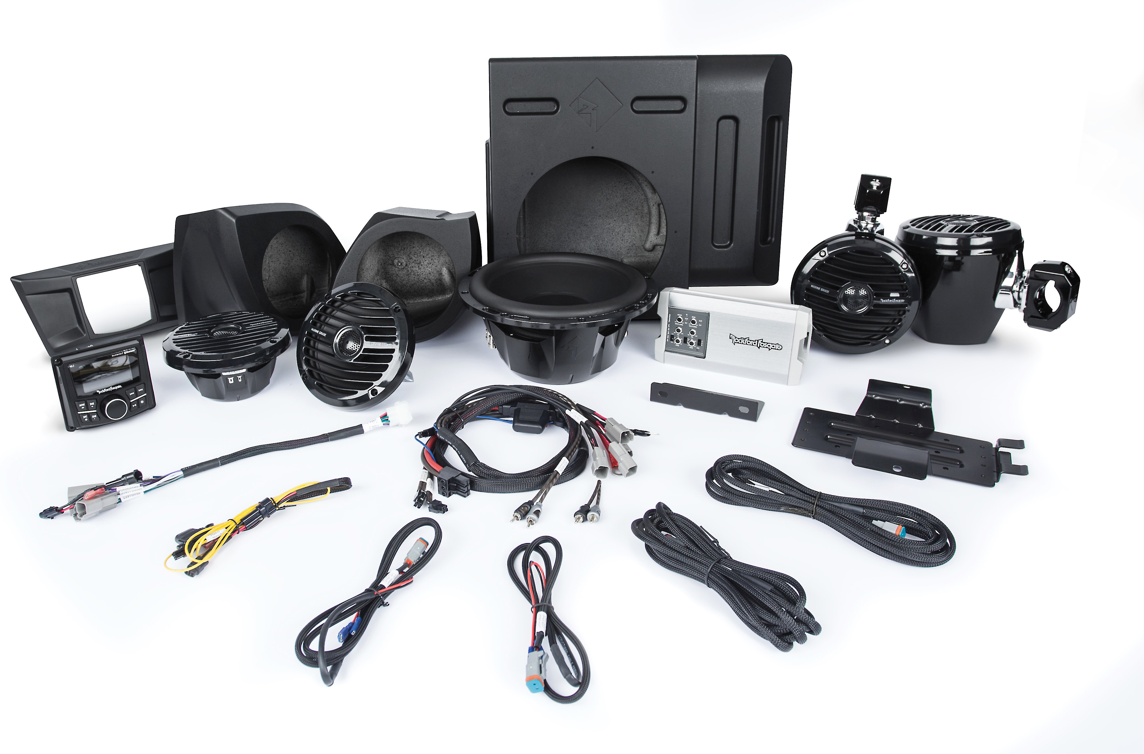Rockford Fosgate RFYXZ-FWE 10 Front Subwoofer Enclosure for Select Yamaha YXZ Models